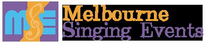 Melbourne Singing Events